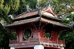 Ein kleiner Tempel.