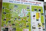 Übersichtsplan der Anlage aus dem Vietnam-Krieg.